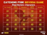 Catching Fire by Suzanne Collins Powerpoint Review Games