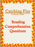 Catching Fire (by Suzanne Collins): Reading Comprehension