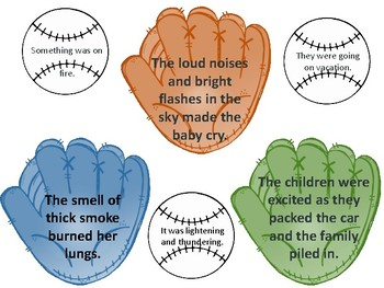 Catching Inferences Matching Game Activity - Small Group or Center Activity