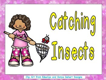 Catching Insects- Shared Reading- Level C Kindergarten Spring-Summer
