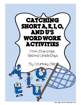 Catching Short A, E, I, O, and U's Word Work Activities