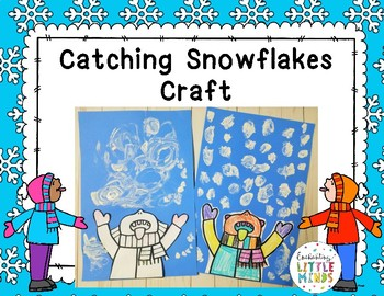 Catching Snowflakes Craft