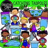 Catching Tadpoles Clipart {Creative Clips Clipart}