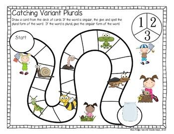 Catching Variant Plurals: -Ves and Vowel Change Plurals