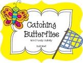 Catching Word Family Butterflies-FREEBIE