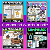 Compound Words Worksheets and Activities Bundle