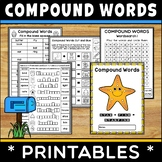 Compound Words Worksheets and Workbooks