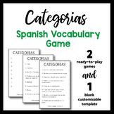 Spanish game: Categorias!