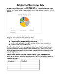 Categorical Data Graphing Project Part 2 Making a Pie Chart