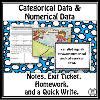 Categorical Data and Numerical Data