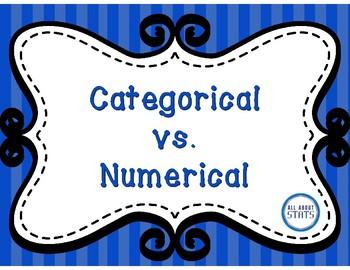 Categorical vs. Numerical