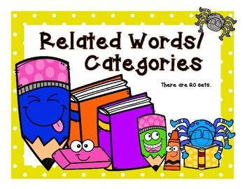 Related Words - Categories