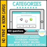 Categories BOOM Cards™️ Speech Therapy Distance Learning