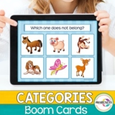 Categories Boom Cards What doesn't belong  Distance Learning