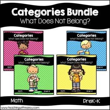Categories Bundle: What Does Not Belong?