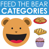 Categories Feed the Bear Activity  Boom Cards | Language |