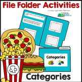 Category Activity (File Folder for Centers, Games, Small Group)