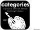 Categories {No Prep Practice}