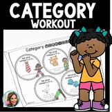 Categories Speech Therapy Activities | Category Sorting