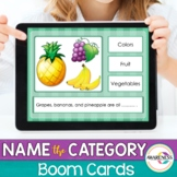 Boom Cards Categories for  Speech Therapy   Teletherapy &
