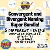 Categories Super Bundle (Divergent and Convergent Naming)