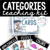 Categories Teaching Kit (w/ BOOM™ Card Distance Learning Option)