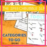 Categories To Go: Tools FREEBIE