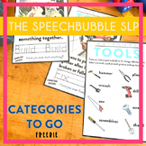 Categories To Go: Tools FREEBIE