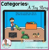 BOOM Cards Distance Learning Speech Therapy | Categories |