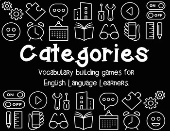 Categories: Vocabulary Building Games BUNDLE
