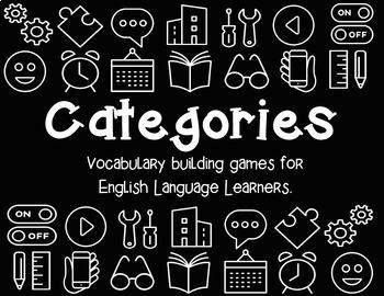 Categories: Vocabulary Building Games BUNDLE