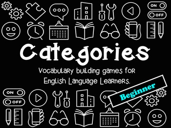 Categories: Vocabulary Building Games (Beginner Level)