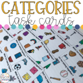Categories - What Belong Together? - Task Cards for Specia
