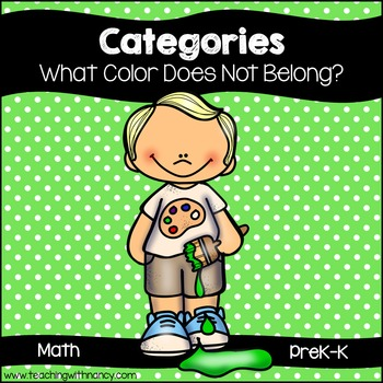 Categories: What Color Does Not Belong?