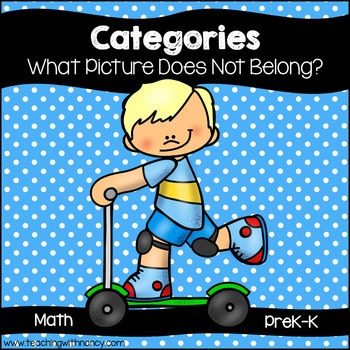 Categories: What Picture Does Not Belong?