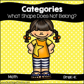 Categories: What Shape Does Not Belong?