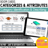 Categories and Attributes BOOM™ Cards   Speech Therapy