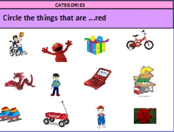 Categories and Basic Negation Activity