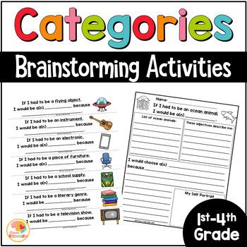 Category Brainstorm: Sentence Frames for Language Development