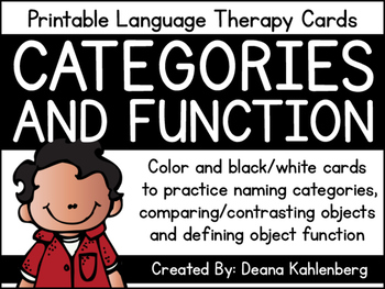Categories and Function Cards