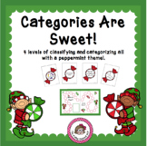 Christmas Categories for Speech/Language Therapy