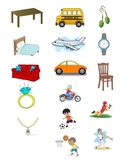 Categories for Speech Therapy