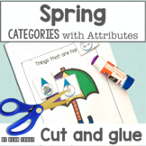 Spring Speech Therapy Categories with Attributes