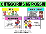 Categories of Poems in Spanish