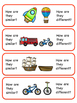 Categories sorting - Transport - Getting from A to B