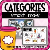 Sorting Categories with Play Dough Smash Mats (Speech Therapy)