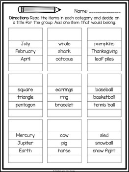 categorize classify activities by hanging with mrs hulsey tpt. Black Bedroom Furniture Sets. Home Design Ideas