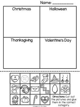 Categorize & Classify Activities