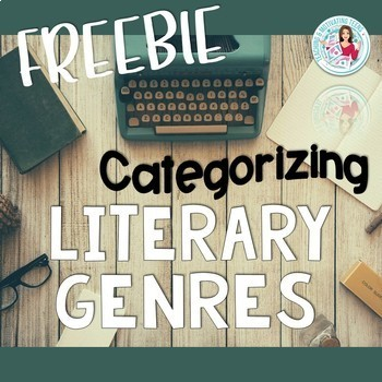 Categorize Literary Genres Graphic Organizer