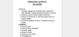 Categorize Landforms (Weathering, Erosion, and Deposition)